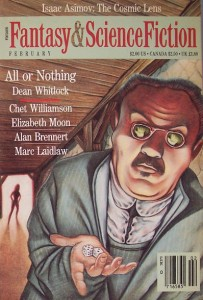 cover art by Tim Gabor for All or Nothing by Dean Whitlock