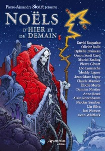 Cover art for French Christmas Anthology edited by Pierre-Alexandre Sicart.